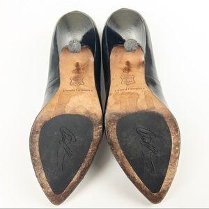 Donald J. Pliner Shoes - Donald J Pliner Black Heels With Metal Toe